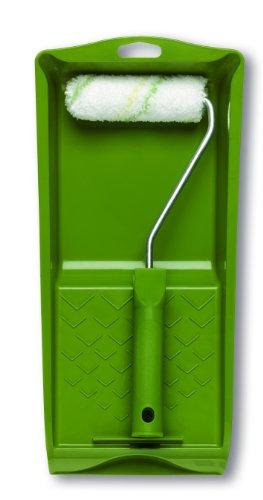 LUX Florhöhe von 6 mm für einen gleichmäßigen Farbauftrag auf glatten Flächen