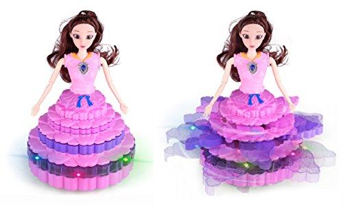 Magicwand® Bump & Go Dancing, Spinning Cake Princess with Music & 3D Lights