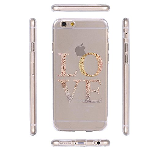ECENCE APPLE IPHONE 6 6S (4,7) COQUE DE PROTECTION HOUSSE CASE COVER 41020404 Amour
