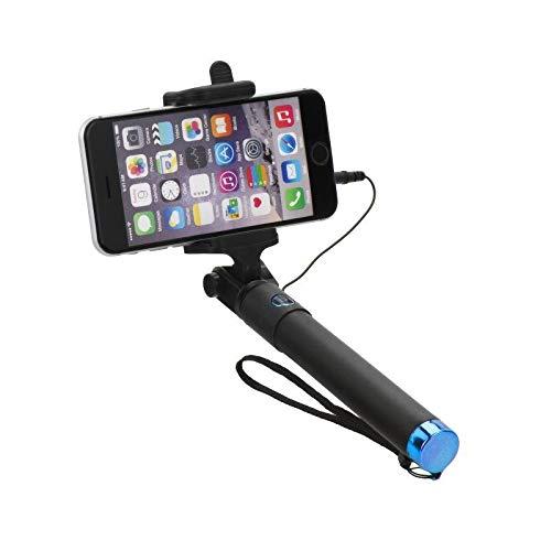 blun - Perche Selfie Compacte Jack 3,5 mm pour WIKO Lenny 5-4 - 3-2