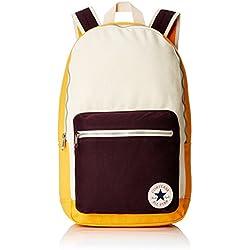 Converse Mochila Core Plus Canvas Backpack, Color Solar Orange Natural, tamaño 26 x 45.5 x 12.5 cm, 15 Liter, Volumen Liters 15.0