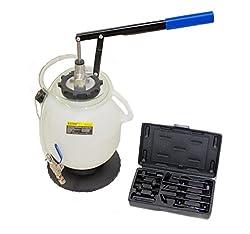 ROTOOLS Öleinfüllgerät Öleinfüller Ölfüllgerät Automatik Getriebe Öl Einfüllgerät Ölpumpe ATF mit Adapter 5112