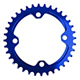 Generic 104mm 36T Fahrrad Kettenblätter - Blau, 20L