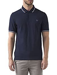 FRED PERRY - Polo - Homme - Polo Classic Slim Fit Bleu Carbone pour homme