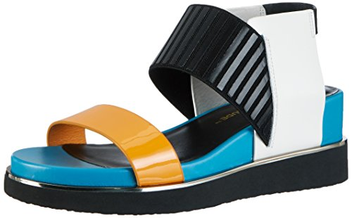 United nude Rico, Sandales  Bout ouvert femme Mehrfarbig (mango Mix)