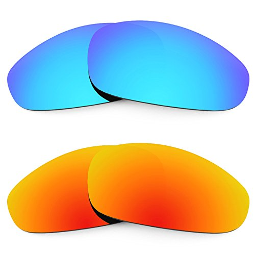 Revant Ersatzlinsen für Oakley Juliet Polarisiert 2 Paar Kombipack K002 (Revant Oakley Juliet)