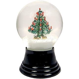 Alexander Taron Importer Perzy Snowglobe, Medium Christmas Tree-5