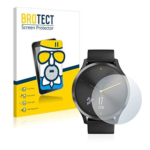 BROTECT Entspiegelungs-Panzerglasfolie kompatibel mit Garmin Vivomove HR - Anti-Reflex Panzerglas Schutz-Folie Matt