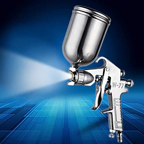 FENGE Luft Spritzpistole Lackierpistole, Airbrush Kit Touch-Up Paint Sprayer/Gravity Feed Luft Pinsel Set/Auto Car Detail Malerei für Spot Repair,2.0