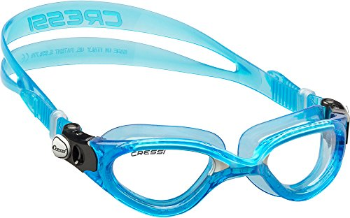 Cressi Flash - Gafas de natación, color azul / blanco
