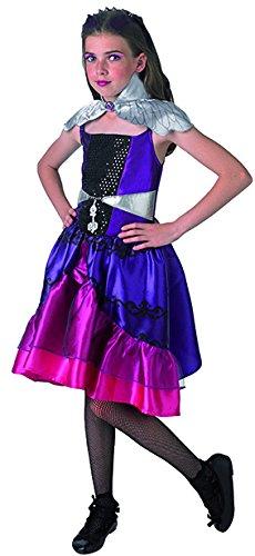 Kostüm Queen Raven - Rubie's 3610238 - Raven Queen Better - Child, Verkleiden und Kostüme, M