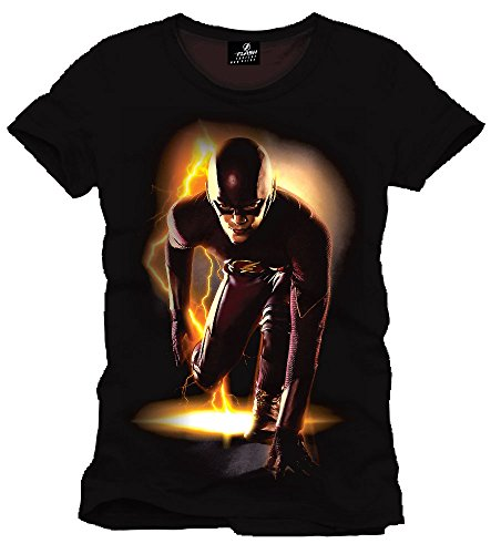 The Flash Maglietta Maglia T Shirt Go To Start Size M CODI
