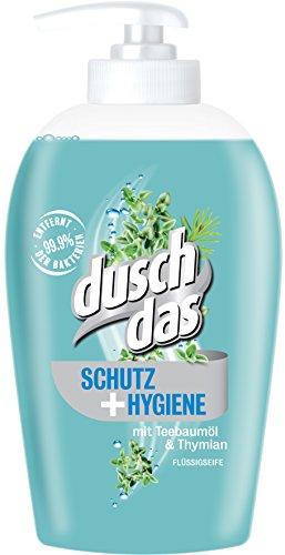 Duschdas Flüssigseife Schutz & Hygiene, 6er Pack (6 x 250 ml) (Flüssige Seife Und Lotion)