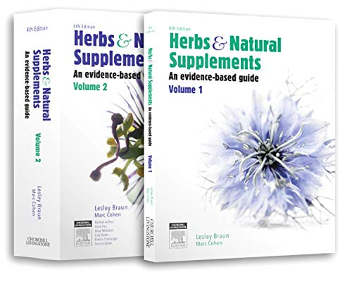 Herbs and Natural Supplements, 2-Volume set: An Evidence-Based Guide, 4e