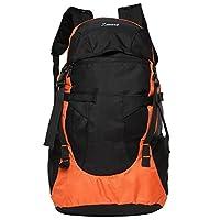 Zwart Black And Orange 35 Ltrs Free Size Backpack / Rucksack
