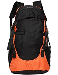 Zwart 32 Ltrs Orange School Backpack (CLINROV-OR)
