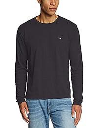 GANT SOLID LS T-SHIRT - T-Shirt À Manches Longues - Manches Longues - Homme