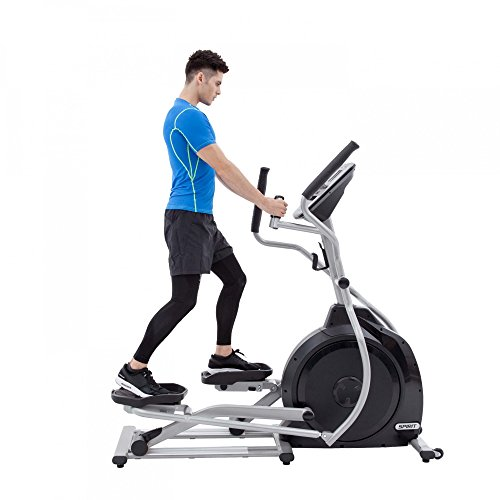 Spirit Elliptical XE 795 – Ellipsentrainer, Cross Trainer mit Hand-Puls-Sensoren, Ergometer, Cardio Fitness - 2