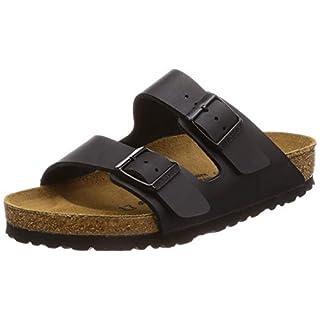 BIRKENSTOCK Arizona, Unisex-Adults' Mules Sandals, Black (Black ), 8 UK (42 EU)