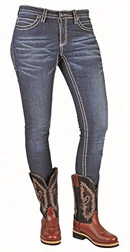 Bottes Jean-Pearl - bleu jeans