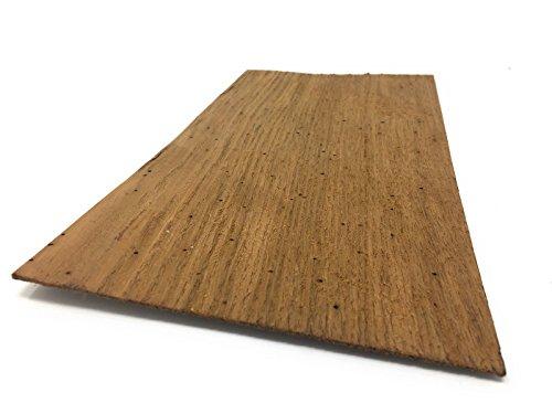 Starkfurnier Sägefurnier in den Holzarten Ahorn Maple Eiche Lärche Fichte Nussbaum Geeignet für viele Furnierarbeiten wie Modellbau; Restauration (Eiche Antik 1,5mm) (Nussbaum Lackiert Schrank)
