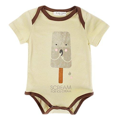 Unisex Neugeborene Kleidung Lustiges Onesie 0 3 6 9 Monate Sommer Mädchen Strampler Overall Säugling Jungen (0-6 Monate, R19) (7 Monat Alter Baby Junge Halloween Kostüme)
