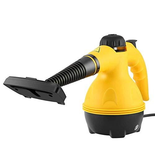 JJZQQJQ Multi-Purpose Druck Dampfreiniger Hand Steam Mop mit 9 Anlagen Chemical-Free Dampfreinigung für Fleckenentfernung Windows-Teppiche Boden Auto