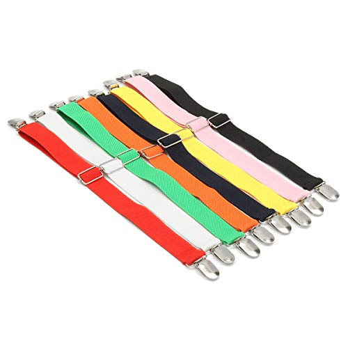 RanDal Bed Fasteners Sheet Mattress Gripper Cover Blankets Clips Holder Elastic 8-Colors - Pink