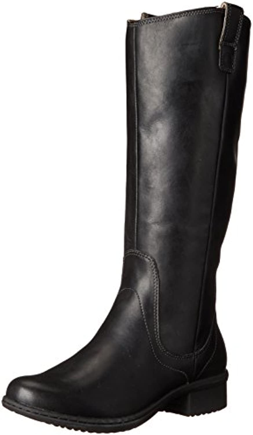 Bogs Ladies Kristina Tall Black Leather Waterproof Slip Resistant Boots 71701-UK 4 (EU 37)