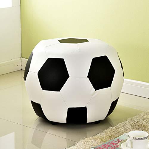 PLL Kreativer Fußball-Form-Änderungs-Schuh-Schemel-Kinderkarikatur-Leder-Schemel-Sofa-Schemel - Stuhl Leder Deckt