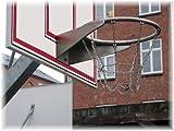 Loggyland Profi Basketballkorb verzinkt mit Kettennetz, öffentlich, TÜV
