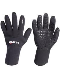 Mares Flexa Classic 3 mm - Guantes de Buceo Unisex, Color Negro, Talla M