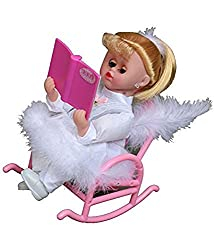 A M Enterprises Book Reading Musical Doll
