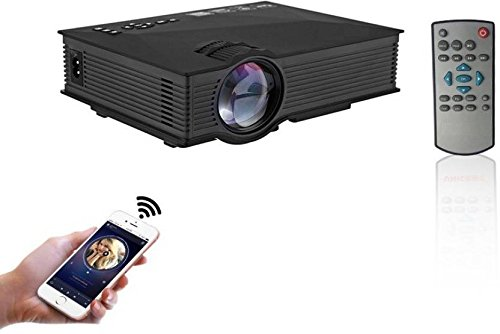 Play High Resolution 1920 x 1080 LED WIFI Projector 1200 Lumens (Black)