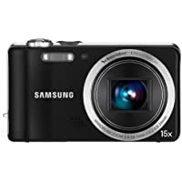 Samsung WB600 Digital Camera - Black (12MP, 15x Optical Zoom) 3.0 inch LCD