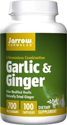 Jarrow Formulas Garlic & Ginger - 100 CAPS by Jarrow Formulas