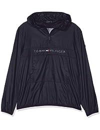 Tommy Hilfiger Unisex Pop-Over Jacket, Chaqueta para Niños