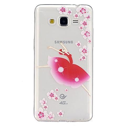 CaseHome Silicone Gel TPU Samsung Galaxy Grand Prime G530 H¨¹lle