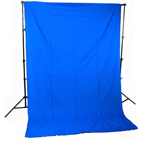 Cowboy Studio newcb de blue13Chromakey muselina croma Fondo con Support System/bolsa azul