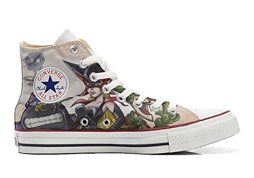 Converse All Star personalisierte Schuhe (Handwerk Produkt) Cartoon Old S - Size EU34
