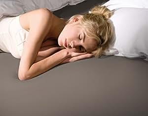 Bella donna la piccola 140/200 platine formesse drap-housse en jersey pour surmatelas de les lits, hauteur 10 cm