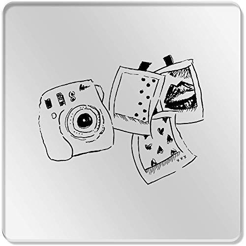 Azeeda 6 x 'Polaroid-Set' Klar Untersetzer (CR00057749)