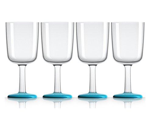 Marc Newson 300 ml, 4-er Set, Vivid blau ()
