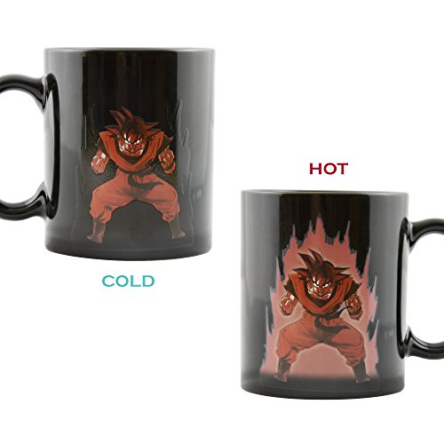 Dragon Ball Z Heat Reactive Color Changing Coffee Mug (Goku) by B&D