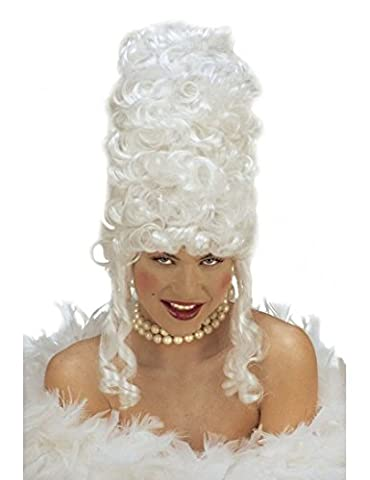 Marie Antoinette White Wig for Fancy Dress Costumes & Outfits
