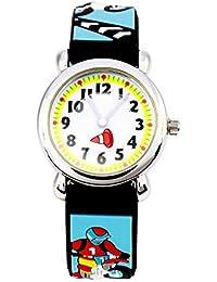 Arroyo Waterproof 3D Cute Cartoon Digital Silicone Wristwatches Time Teacher Gift For Little Girls Boys Kids Children... - B07GDCMTRB
