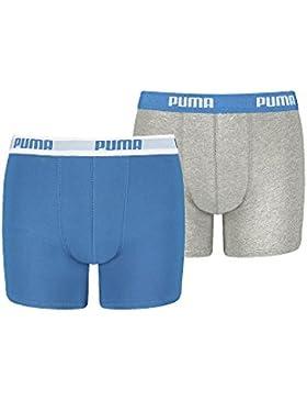 Puma–Calzoncillos para niño con alto contenido de algodón costumbre Buena Calidad de Puma marcas. Pack de 4
