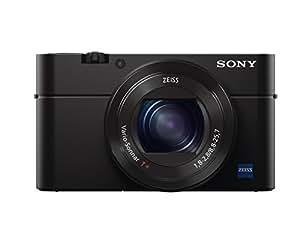 """Sony DSCRX100M3 Appareil Photo Numérique Compact Ecran 3"""" (7,62 cm) 20,1 Mpix Zoom Optique 2,9x HDMI/USB/Wi-Fi Noir"""