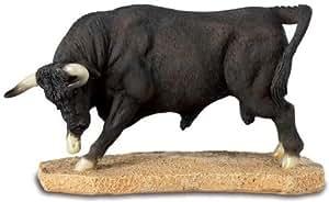 Figurine taureau en résine