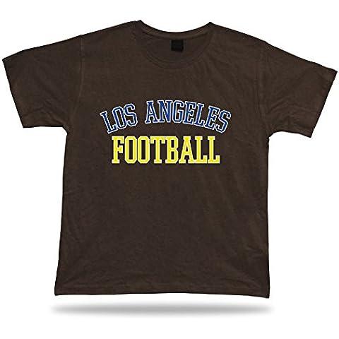 Design Los Angeles CALCIO t-shirt tee California stadio abbigliamento stile USA